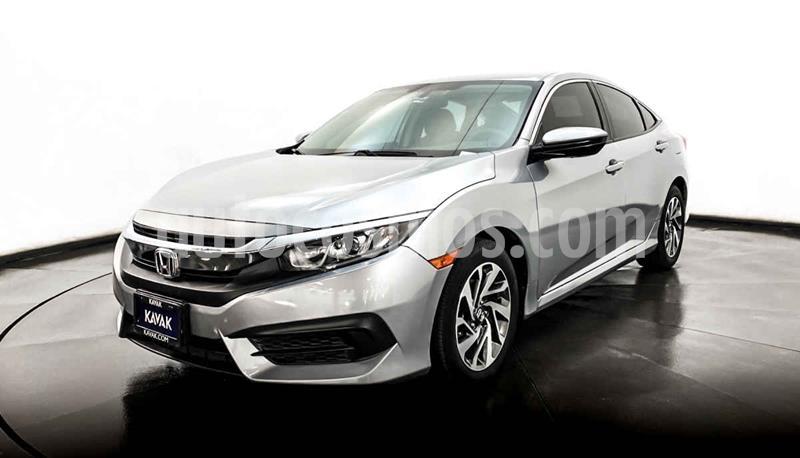 Honda Civic Coupe EX 1.8L Aut usado (2015) color Plata precio $239,999