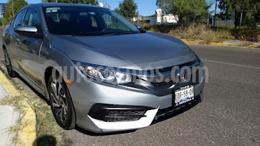 foto Honda Civic 4p EX Sedan L4/2.0 Man usado (2016) color Gris precio $215,000