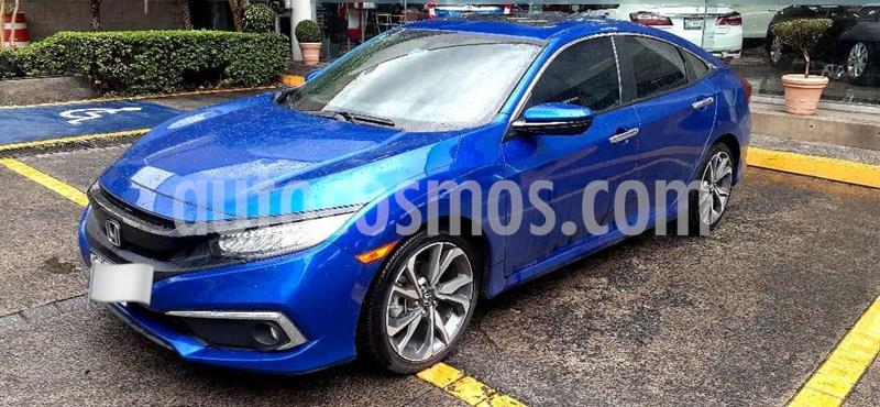 Honda Civic Touring Aut usado (2019) color Azul precio $397,000
