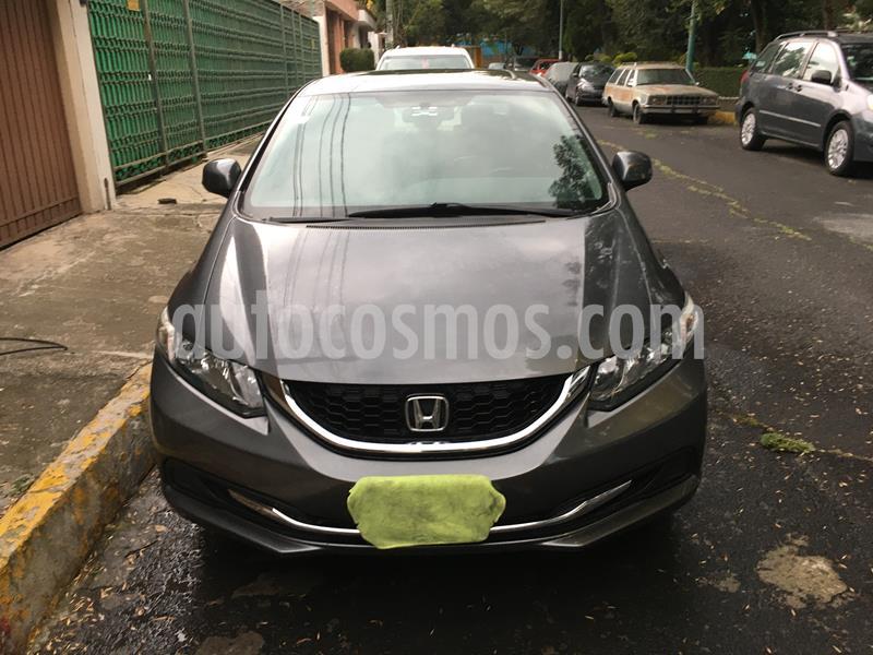 Honda Civic EXL 1.8L Aut usado (2013) color Antracita precio $168,000