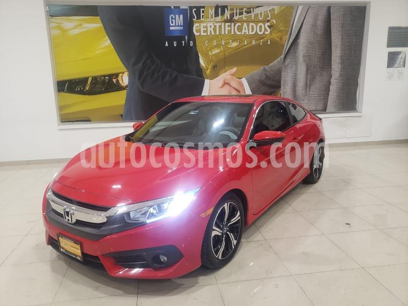 Honda Civic Coupe Turbo Aut usado (2017) color Rojo precio $302,900