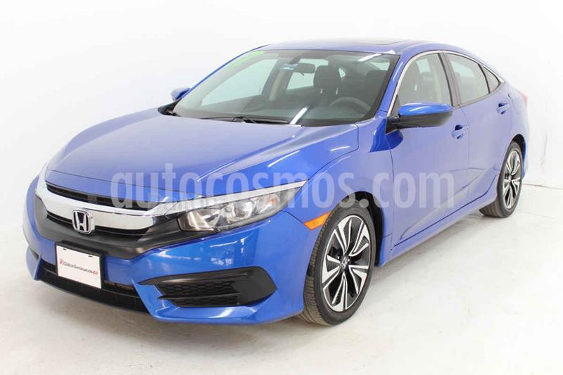 Honda Civic Turbo Aut usado (2017) color Azul precio $283,000