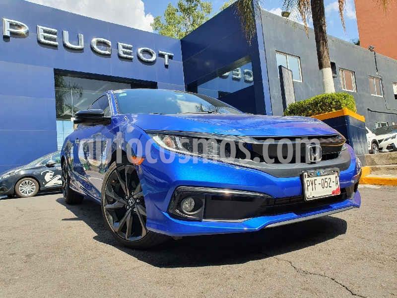 Honda Civic Coupe Turbo Aut usado (2019) color Azul precio $385,900