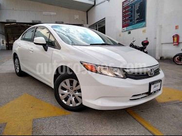 Honda Civic 4p DMT LX sedan 5vel usado (2012) color Blanco precio $149,900