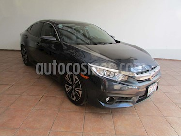 Honda Civic Turbo Plus Aut usado (2017) color Azul precio $315,000