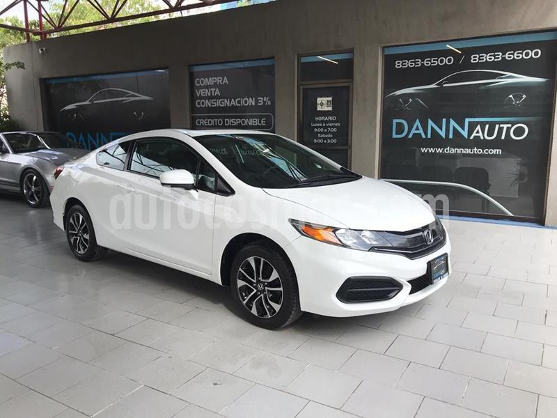 Honda Civic Coupe EX 1.8L usado (2014) color Blanco precio $189,000