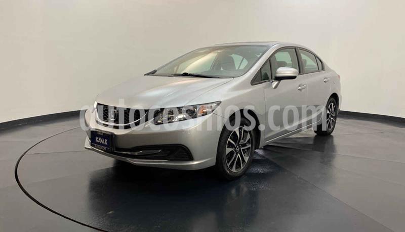 Honda Civic EXL 1.8L Aut NAVI usado (2015) color Plata precio $244,999