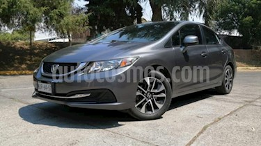 Honda Civic 4P EX SEDAN AT PANTALLA RA-16 usado (2013) color Gris precio $169,000