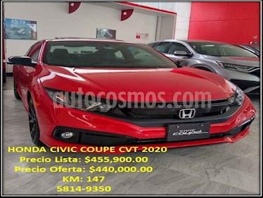 Honda Civic Coupe EX 1.7L Aut usado (2020) color Rojo precio $440,000