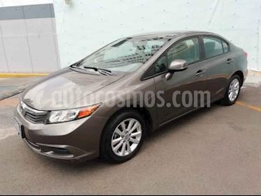 Honda Civic 4p DMT EX sedan aut usado (2012) color Gris precio $149,000