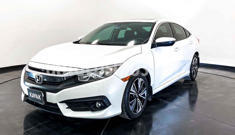 Honda Civic EX 1.8L Aut usado (2015) color Blanco precio $274,999