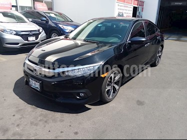 Honda Civic Touring Aut usado (2018) color Negro precio $345,000