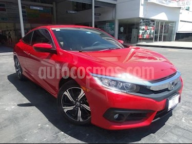 Honda Civic 2P COUPE TURBO CVT 1.5T 174 HP QC RA-17 usado (2018) color Rojo precio $365,000
