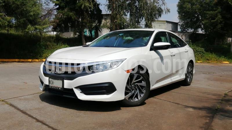Honda Civic EX usado (2016) color Blanco precio $228,000