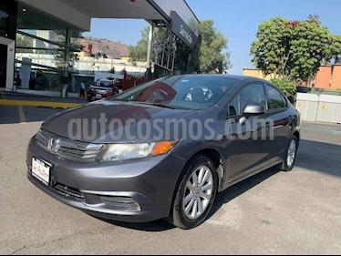 Honda Civic 4p DMT EX sedan aut usado (2012) color Gris precio $145,000