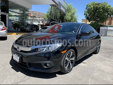Honda Civic 2p Coupe Turbo L4/1.5/T Aut usado (2017) color Negro precio $313,000