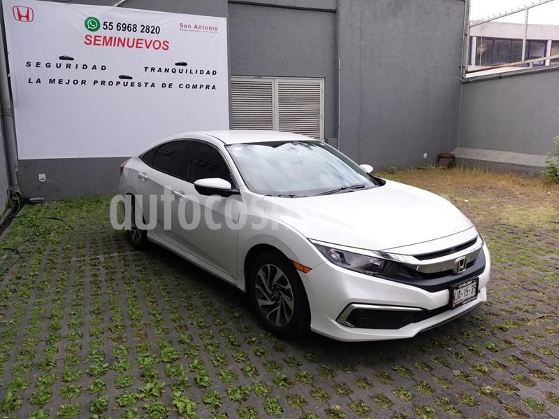 Honda Civic EX usado (2019) color Blanco precio $295,000