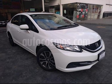 Honda Civic 4P EX SEDAN TM5 PANTALLA RA-16 usado (2014) color Blanco precio $195,000