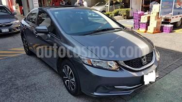 Honda Civic 4P EXL SEDAN TA QC PIEL GPS RA-16 usado (2014) precio $159,000