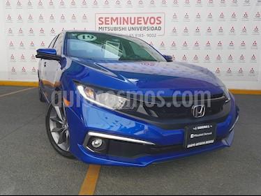 Foto Honda Civic Turbo Plus Aut usado (2019) color Azul Deportivo precio $370,000