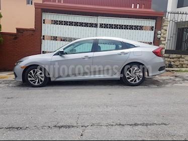 Honda Civic EX usado (2016) color Plata precio $238,000