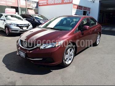Honda Civic EX usado (2013) color Rojo Camelia precio $168,000