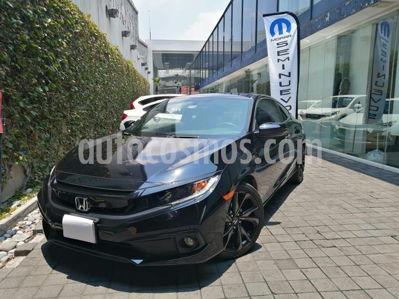 Honda Civic Coupe Turbo Aut usado (2019) color Negro precio $360,000