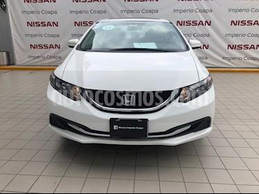 Honda Civic EX 1.7L usado (2014) color Blanco precio $189,000