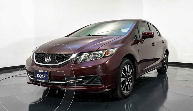 Honda Civic EXL 1.8L Aut NAVI usado (2014) color Rojo precio $189,999