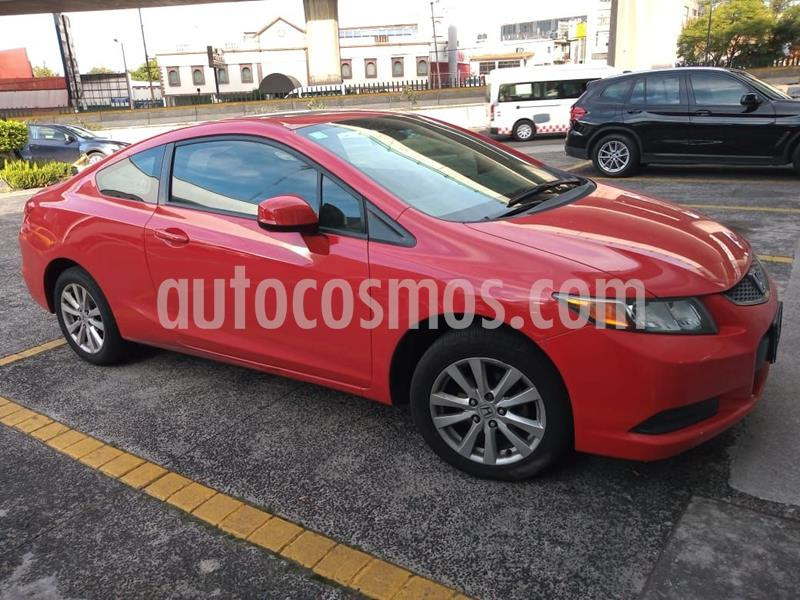 Honda Civic Coupe EX 1.8L usado (2012) color Rojo precio $159,000