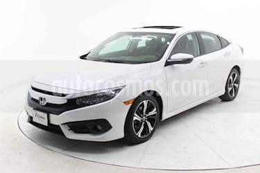 Honda Civic 4 pts. Touring usado (2018) color Blanco precio $369,000