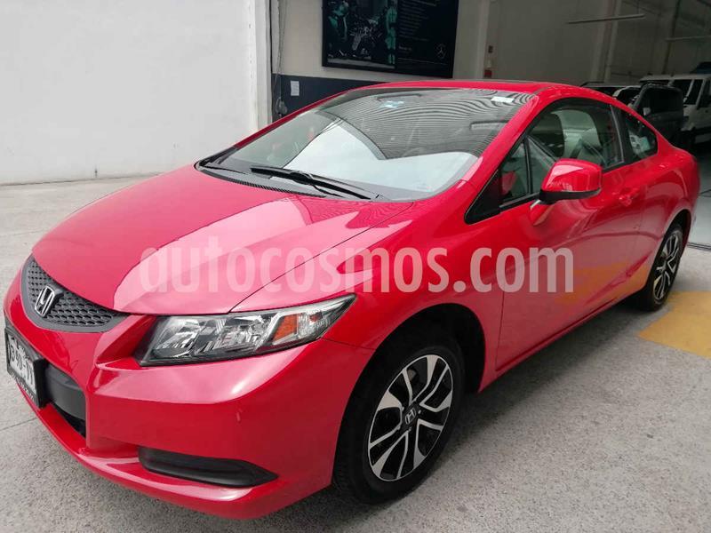 Honda Civic Coupe EX 1.8L Aut usado (2013) color Rojo precio $165,000