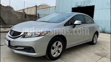 Honda Civic LX 1.8L Aut usado (2013) color Plata precio $148,000