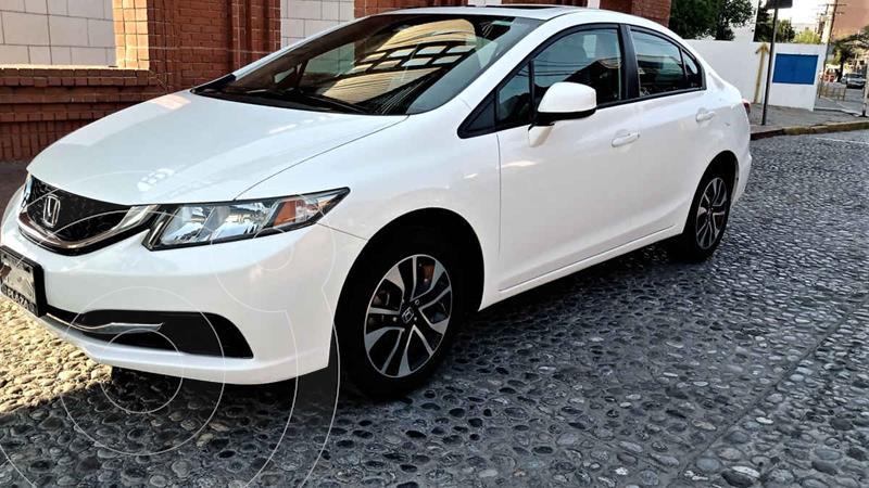 Foto Honda Civic EXL 1.8L Aut usado (2013) color Blanco precio $185,000