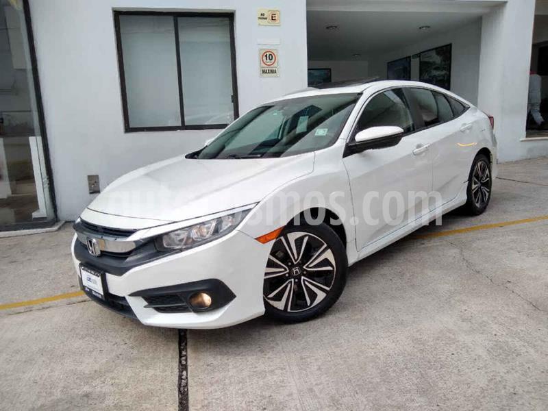 Honda Civic Turbo Plus Aut usado (2016) color Blanco precio $258,000