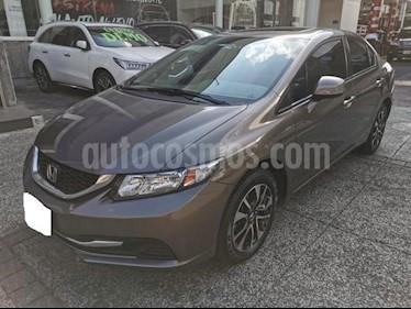 Honda Civic 4P EXL SEDAN TA QC PANTALLA PIEL RA-16 usado (2013) precio $189,000