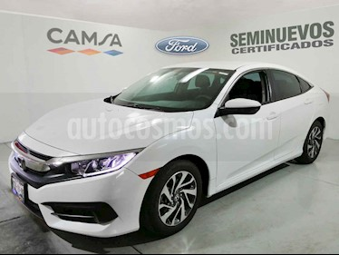 Honda Civic 4p EX Sedan L4/2.0 Man usado (2017) color Blanco precio $274,900
