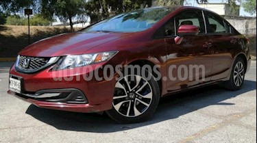 Honda Civic 4P EX SEDAN AT CD QC RA-16 usado (2015) color Rojo precio $207,000