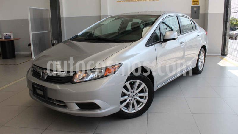 Honda Civic EX 1.8L Aut usado (2012) color Plata precio $155,000