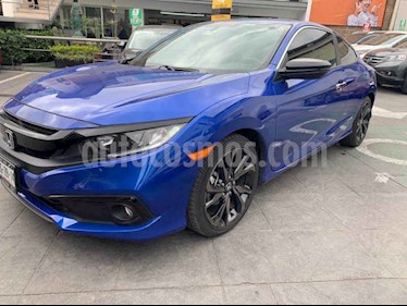 Honda Civic Coupe Sport Plus Aut usado (2019) color Azul precio $389,000