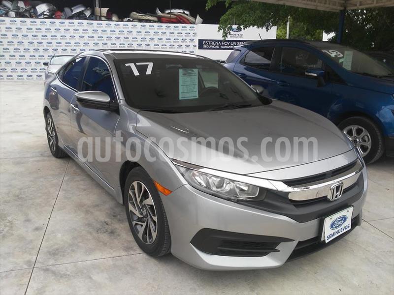 Honda Civic EX AT usado (2017) color Gris precio $245,000