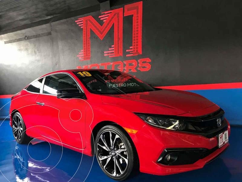 Honda Civic Coupe Turbo Aut usado (2019) color Rojo precio $385,000