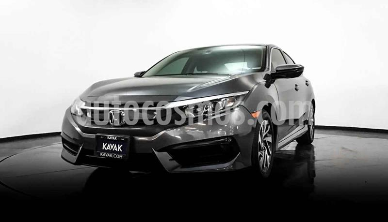 Honda Civic Coupe Turbo Aut usado (2018) color Gris precio $272,999