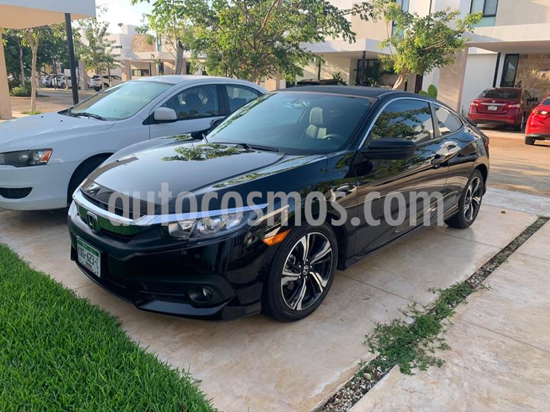 Honda Civic Coupe Turbo Aut usado (2018) color Negro Cristal precio $310,000