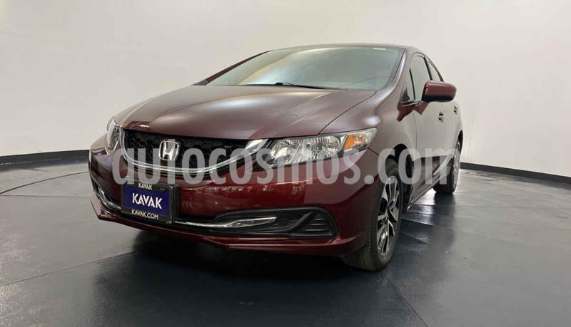 Honda Civic EXL 1.8L Aut NAVI usado (2015) color Rojo precio $239,999