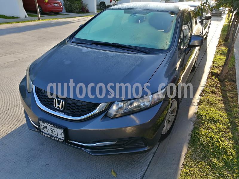 Honda Civic LX 1.8L Aut usado (2013) color Antracita precio $155,000