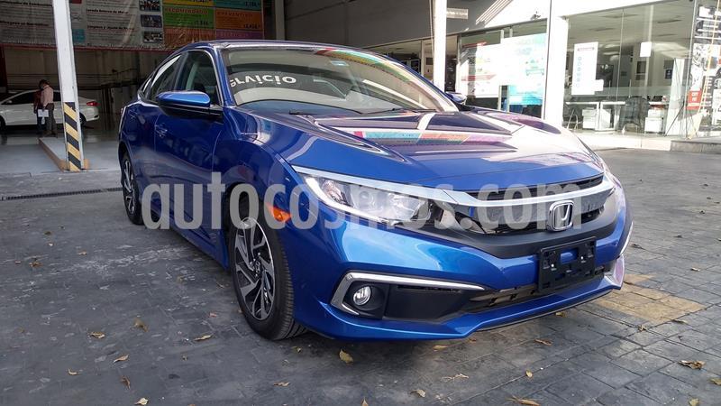 Honda Civic i-Style Aut usado (2020) color Azul precio $378,005