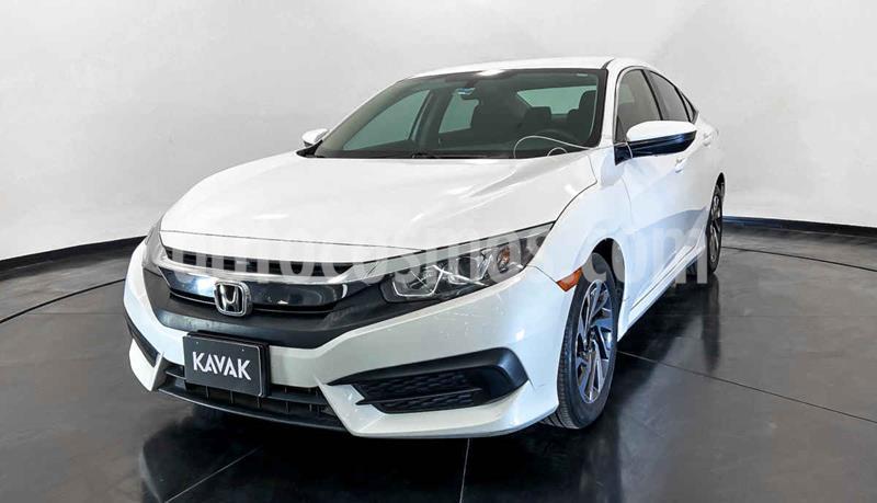 Honda Civic EX 1.8L Aut usado (2015) color Blanco precio $272,999