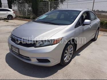 Honda Civic EX-R  usado (2012) color Plata precio $128,468
