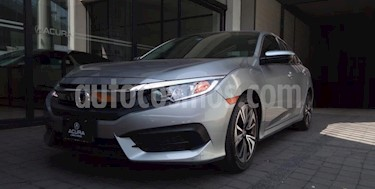 Honda Civic 4P TURBO SEDAN CVT 1.5T 174 HP QC RA-17 usado (2017) color Plata precio $298,000